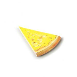 Pen and deli pizza memo pad cheese