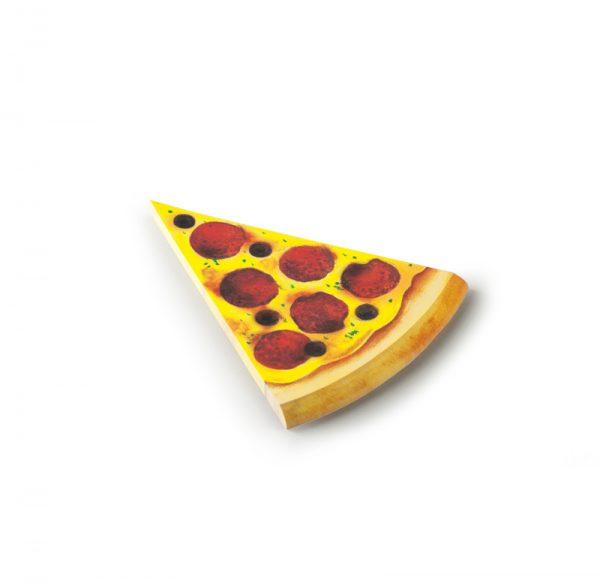 Pen and deli pizza memo pad pepperoni
