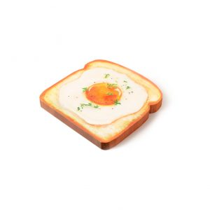 Pen and deli toast memo pad egg