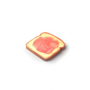 Pen and deli toast memo pad jam