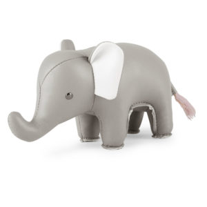 zuny-classic-elephant-paperweight-grey