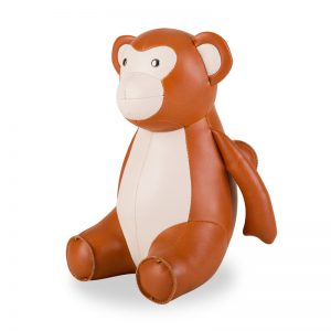 zuny-classic-monkey-bookend-tan