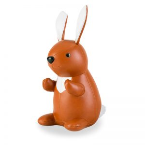 zuny-classic-rabbit-bookend-tan