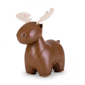 zuny-zuny-moose-rudo-bookend-brown