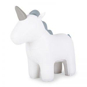 zuny-zuny-unicorn-nico-doorstop-white