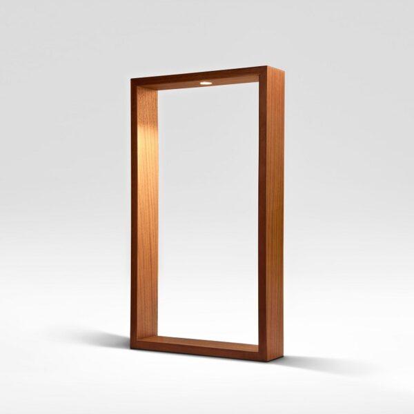 meta-design-square-L-walnut-wooden-led-table-lamp